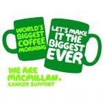 Macmillan coffee morning 2015 at Aspin