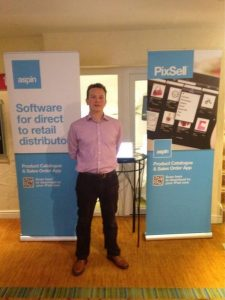 Managing Director Nathan Aspin at a previous Access conference.
